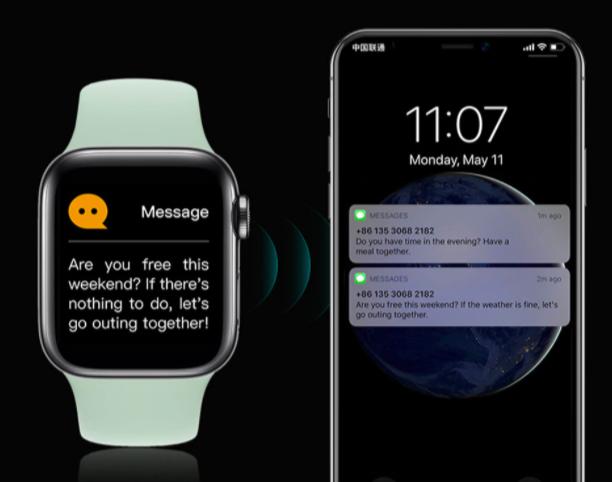 Smartwatch Iwo X7 Max