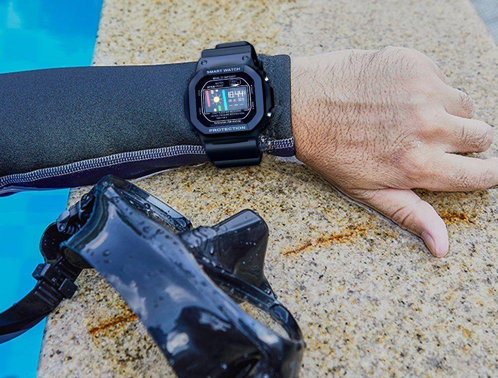 Smartwatch Sport Retrô