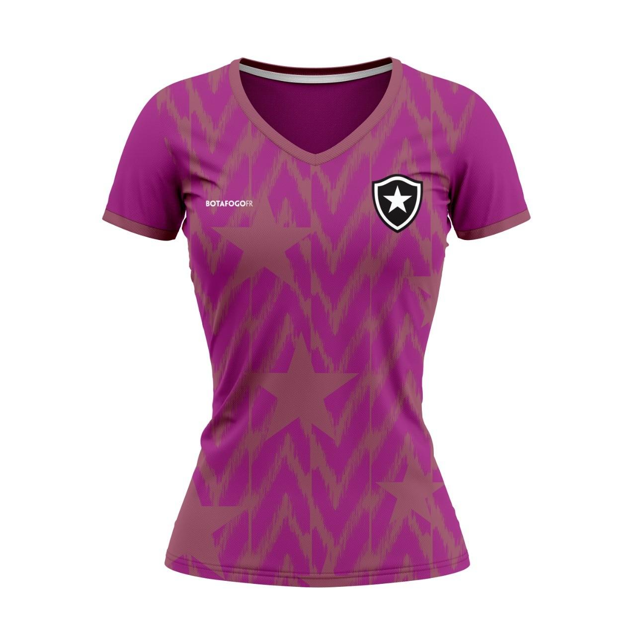 Blusa Botafogo Outubro Rosa - Feminina