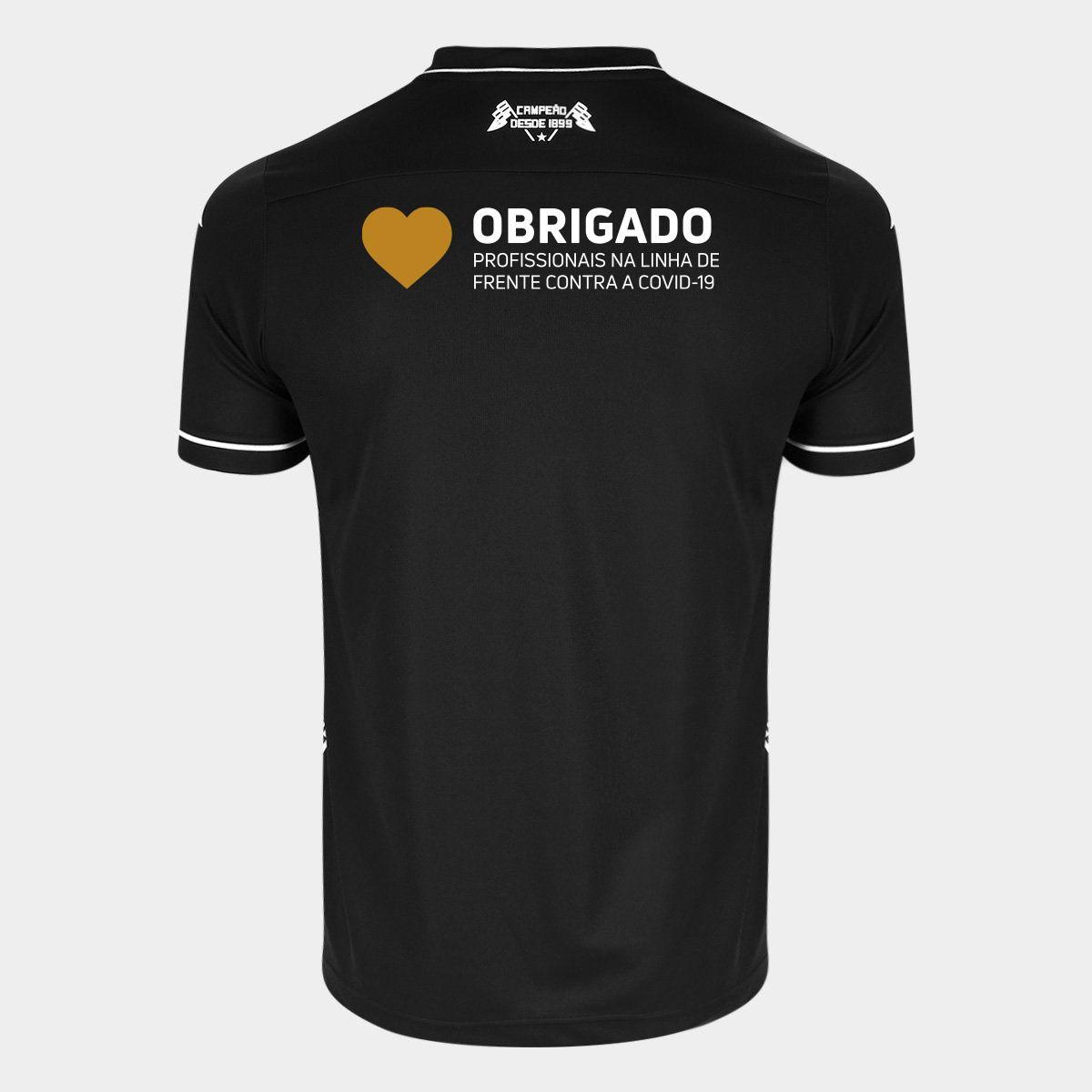 """Camisa Kappa Oficial II Especial """"Ser Botafogo é orgulho"""" Masculina"""