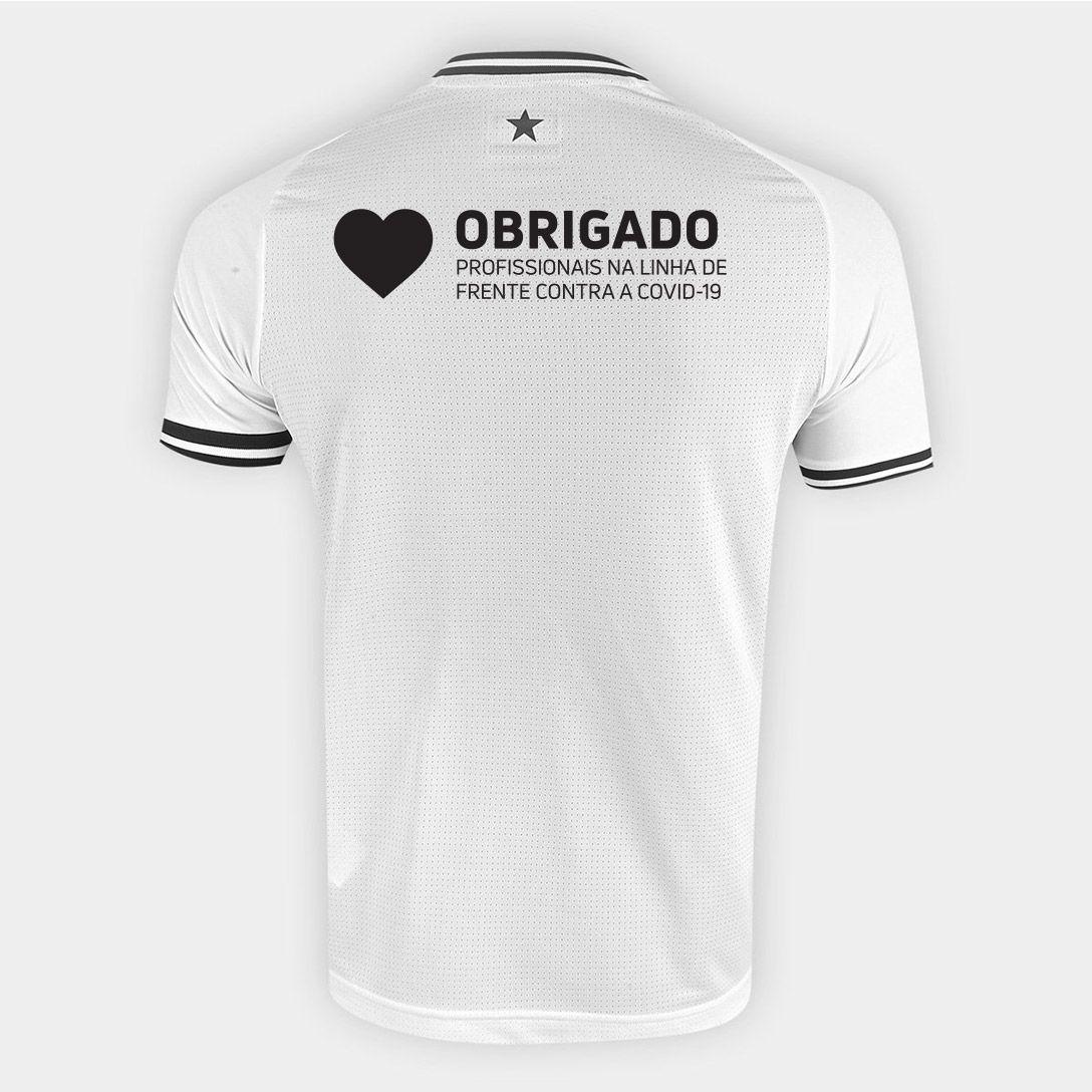 """Camisa Kappa Oficial III Especial """"Ser Botafogo é orgulho"""" Infantil"""