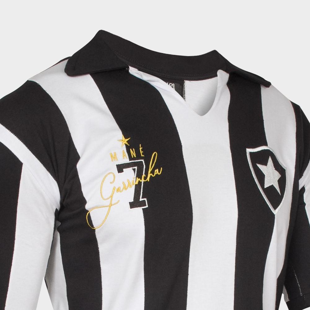 Camisa Retrô Botafogo Garrincha - Edição Especial