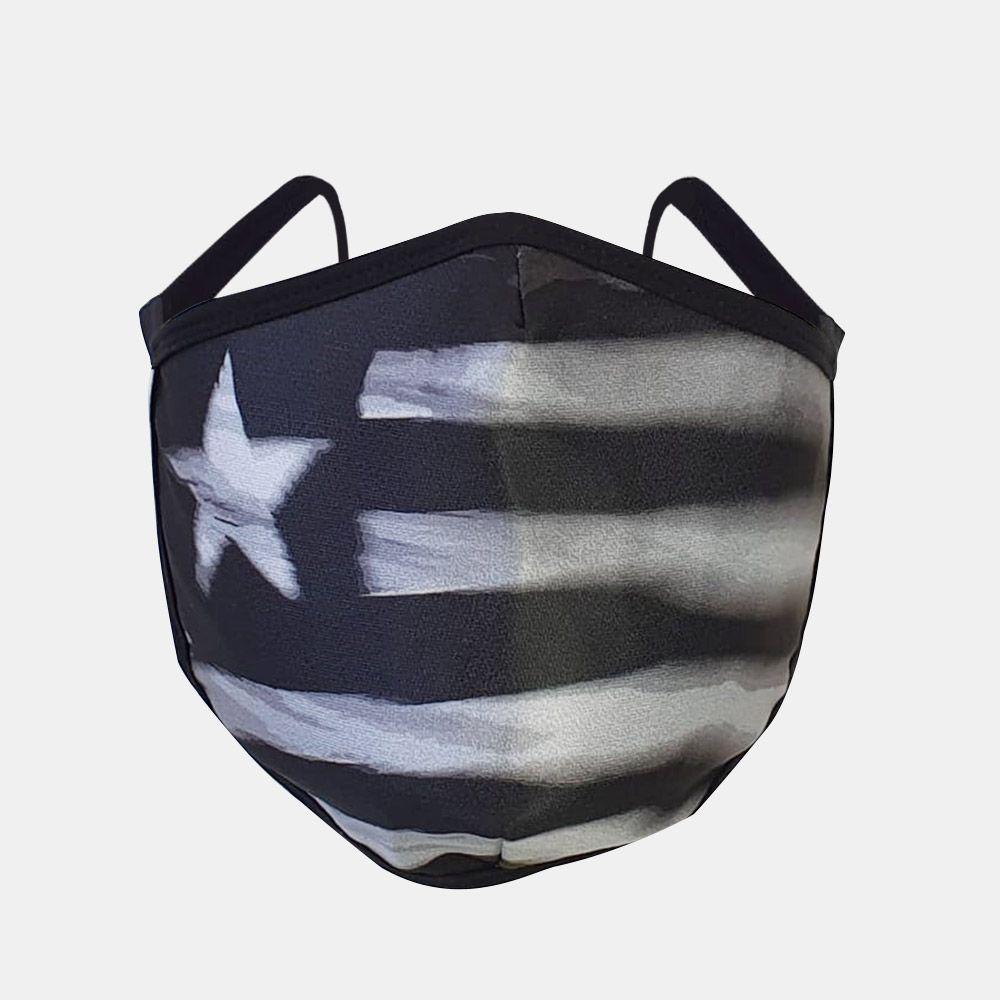 Máscara Botafogo Bandeira
