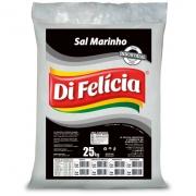 SAL MARINHO GROSSO PENEIRADO SEM IODO TRAT AGUA DI FELICIA SACO 25KG