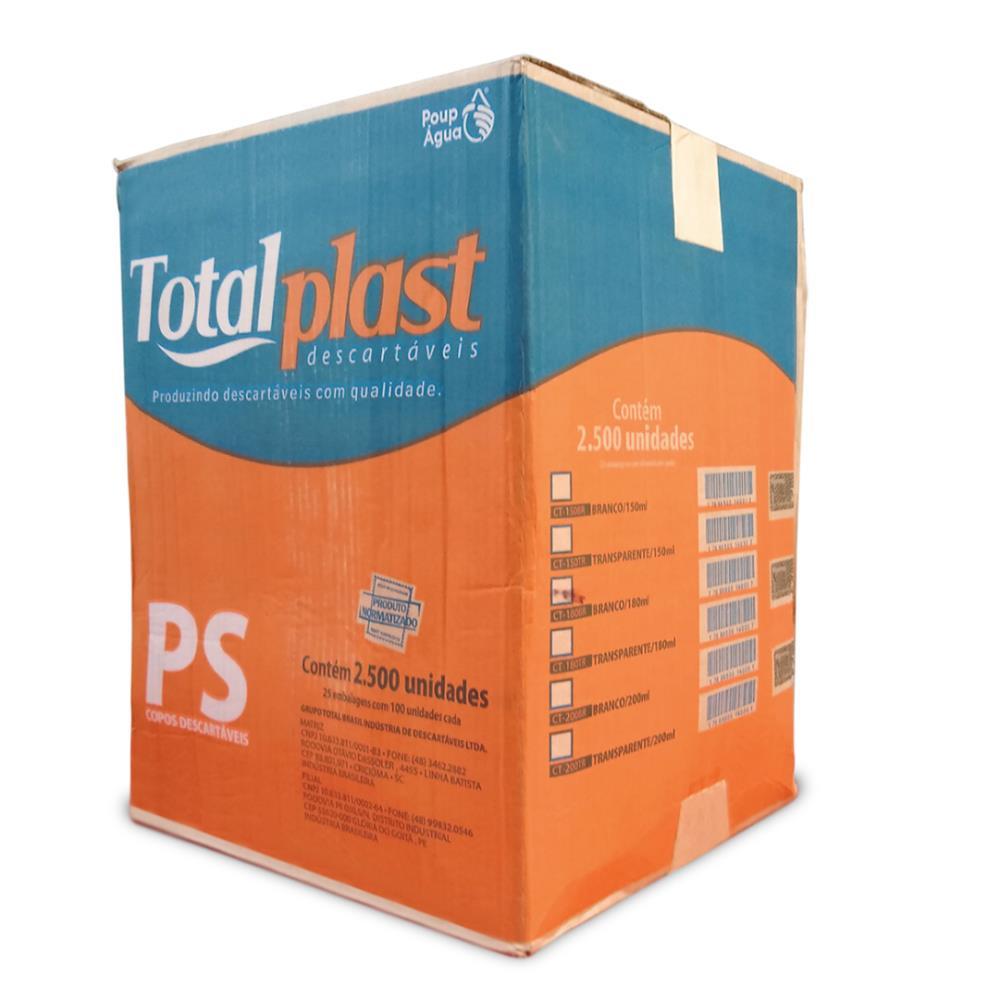 COPO PLAST PS TRANSP CT-150TR TOTALPLAST 150ML 25X100UND