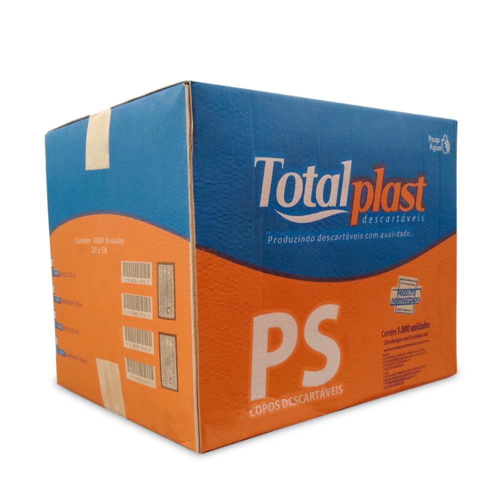 COPO PLAST PS TRANSP CT-400TR TOTALPLAST 400ML 20X50UND