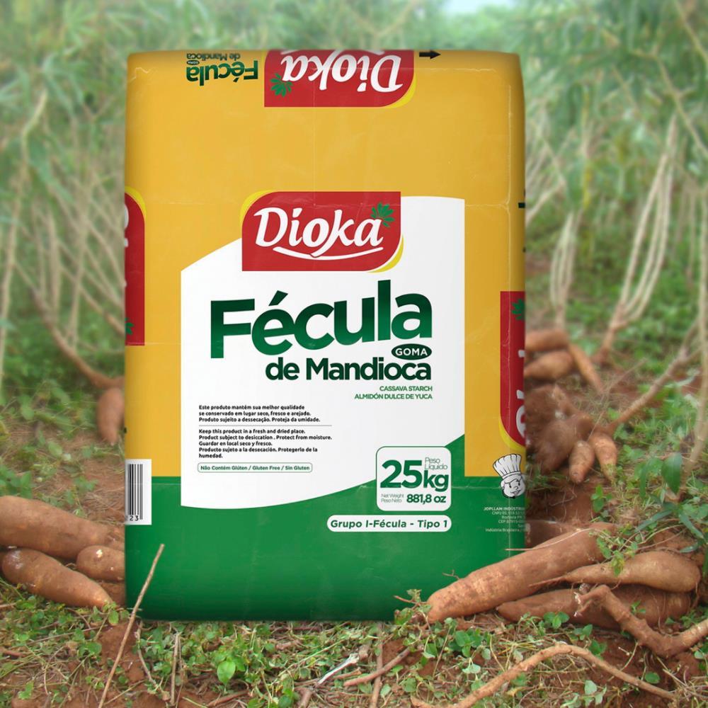 FECULA MANDIOCA T1 DIOKA SACO 25KG