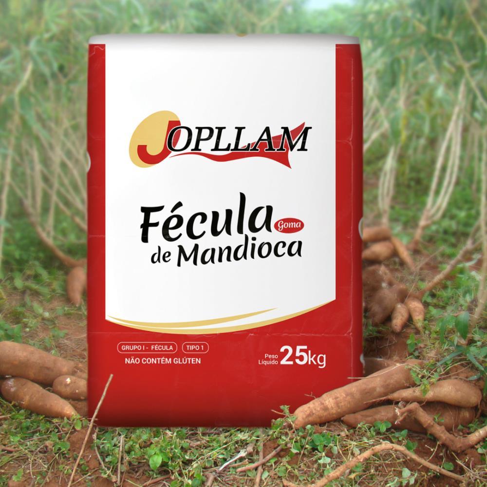 FECULA MANDIOCA T1 JOPLLAM SACO 25KG