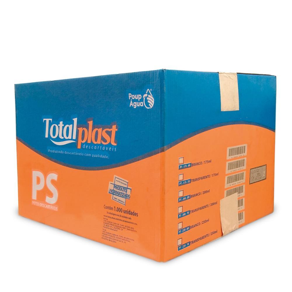 POTE PLAST PS BRANCO PT-175BR TOTALPLAST 175ML 20X50UND
