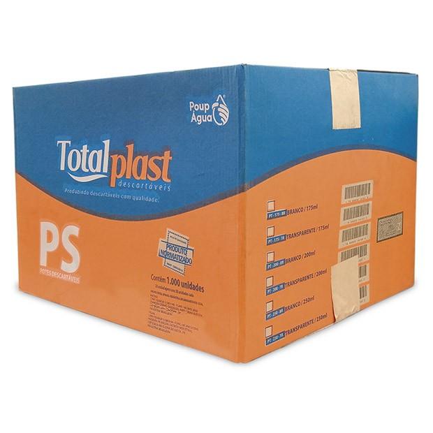 POTE PLAST PS TRANSP PT-175TR TOTALPLAST 175ML 20X50UND