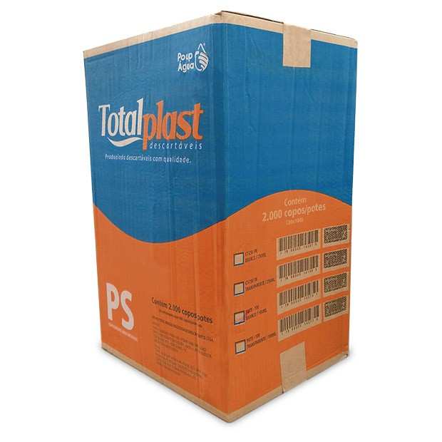 POTE PLAST TRANSP PT-100TR TOTALPLAST 100ML 20X100UND