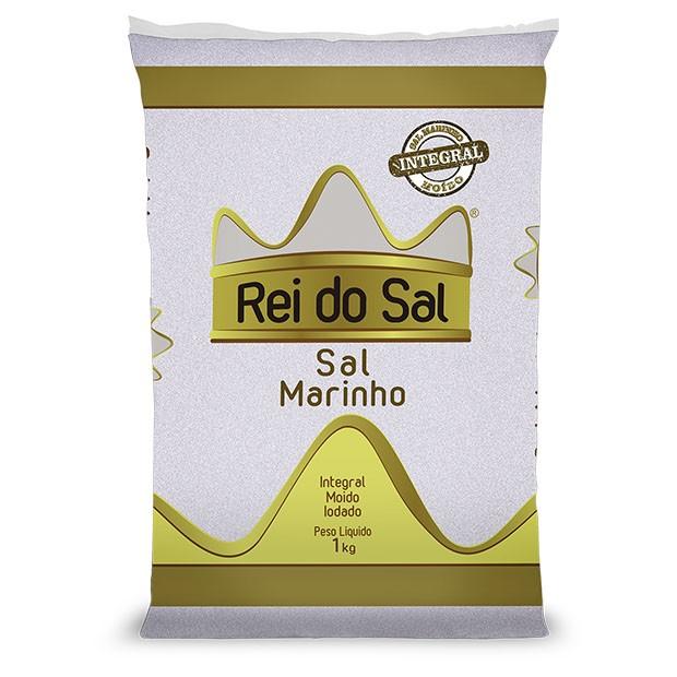SAL MARINHO INTEGRAL MOIDO IODADO REI DO SAL 30X1KG