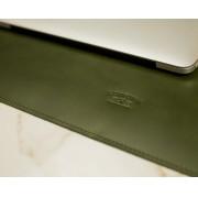 Deskpad em Couro Verde 60x45