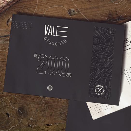 Cartão Presente B.Craftsman - 200