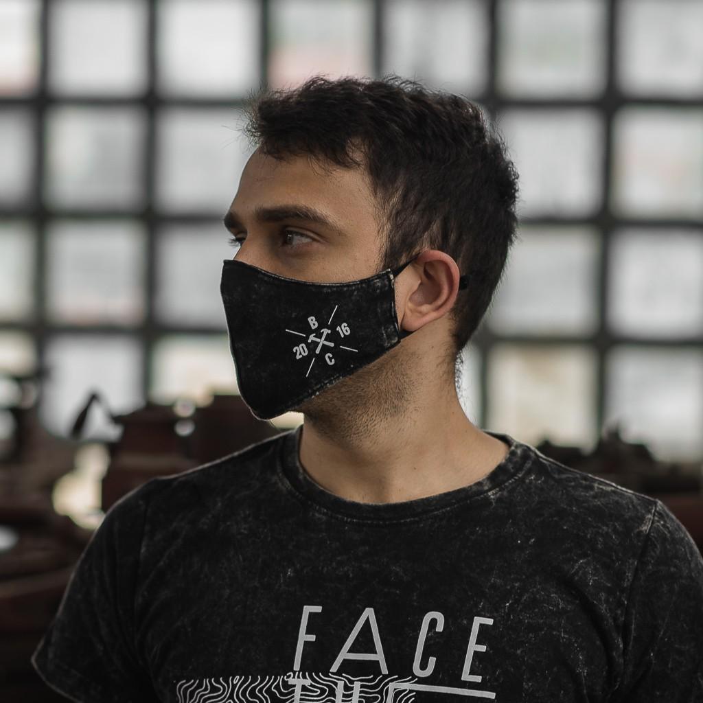 Combo Camiseta Face The Storm + Máscara