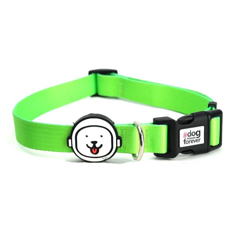 Coleira para Cachorro Verde Neon