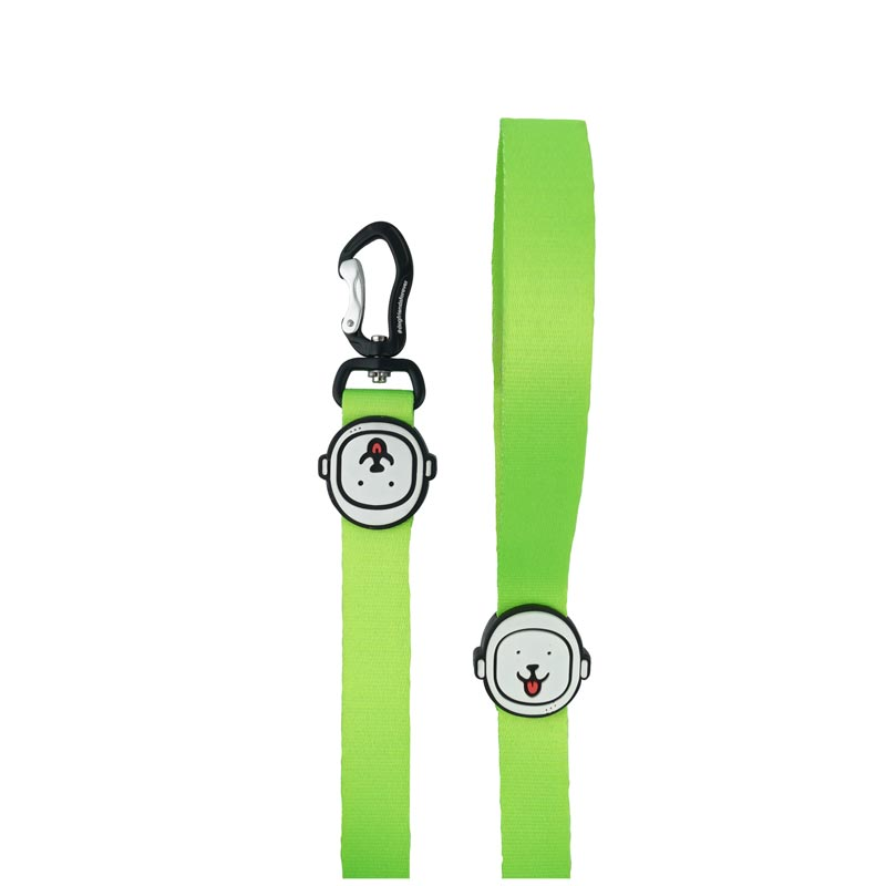 Guia para Cachorro Verde Neon