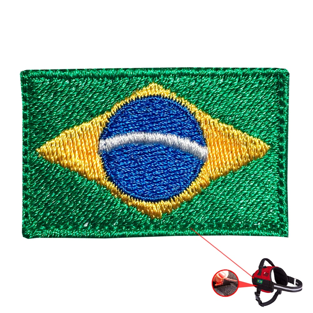 Patch Bandeira Brasil