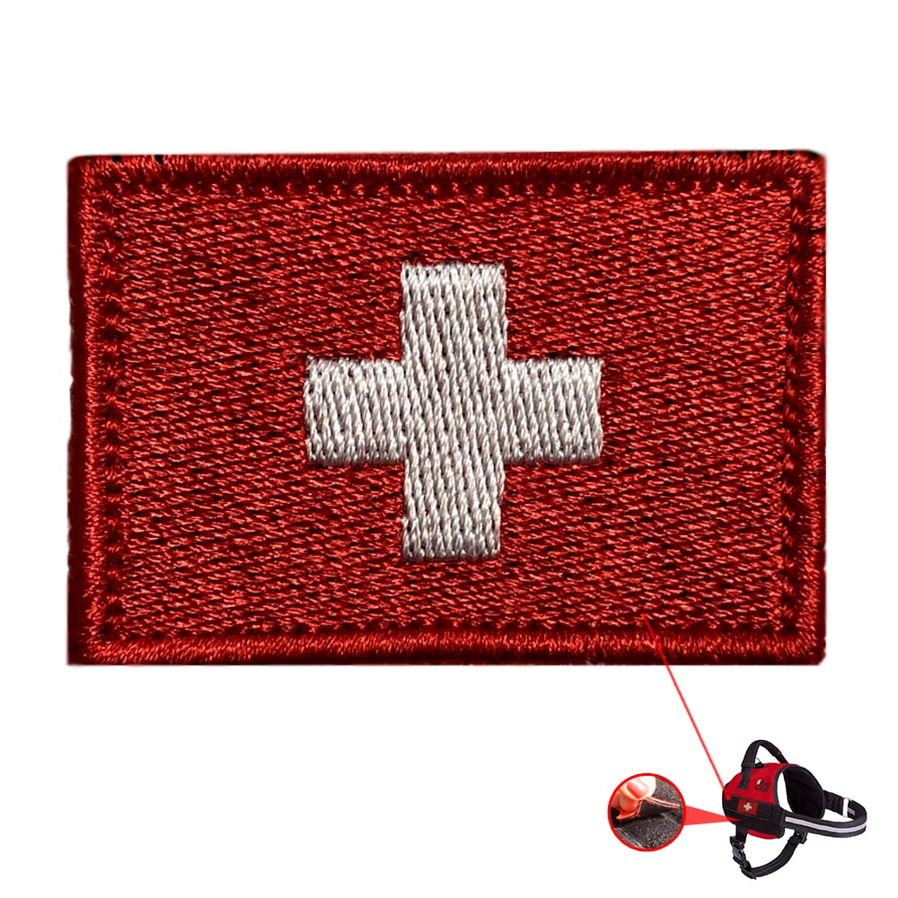 Patch Bandeira Suíça