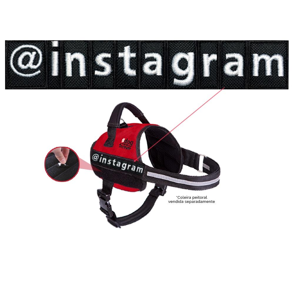 Personalize seu Peitoral - Escreva o Nome ou Instagram
