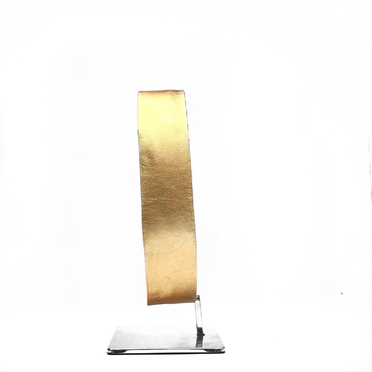 Cinto faixa metalizado