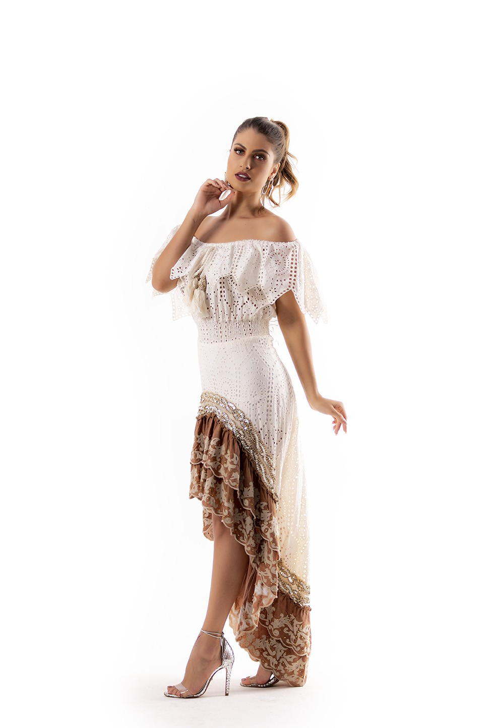 Vestido Larie&Joe long dress
