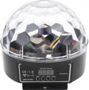 Globo Mágico LED de Cristal
