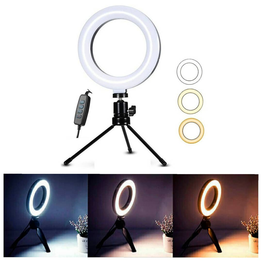 Iluminador Ring Light de Led