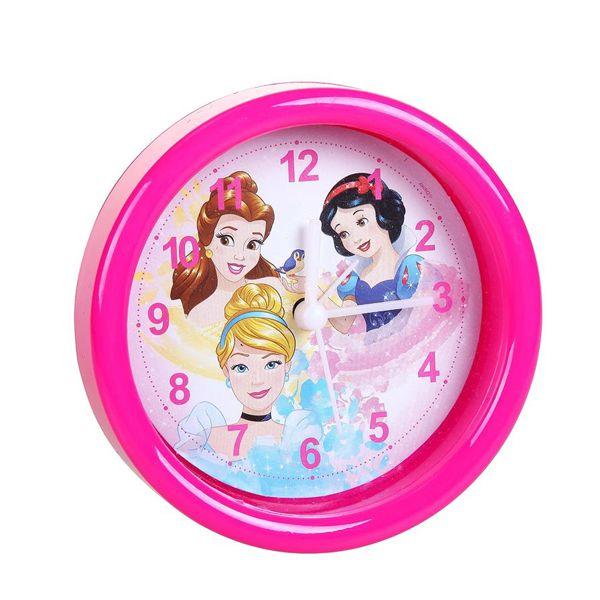 Relógio Analógico com Despertador - Disney Princesas