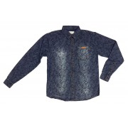 Roupa Infantil Masculina Camisa Jeans Azul Lavada ClubZ