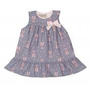 Vestido Feminino Infantil Sapatilhas Matinée