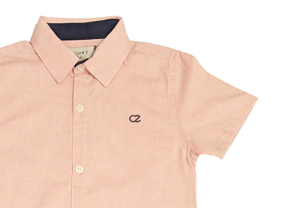 Conjunto Infantil de Camisa Rosa com Calça Jeans Club Z