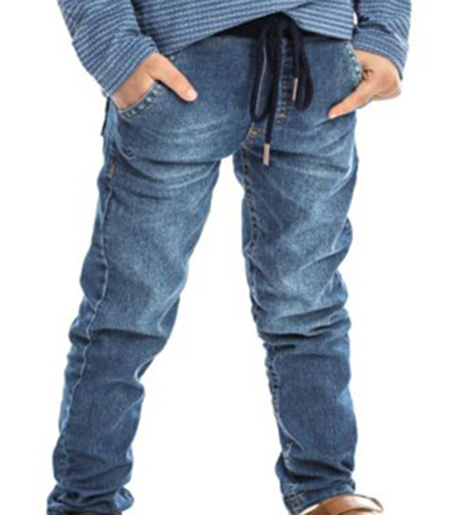 Conjunto Infantil Masculino Camisa Polo e Calça Jeans Club Z