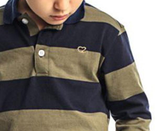 Conjunto Infantil Masculino Camisa Polo e Calça Sarja Club Z