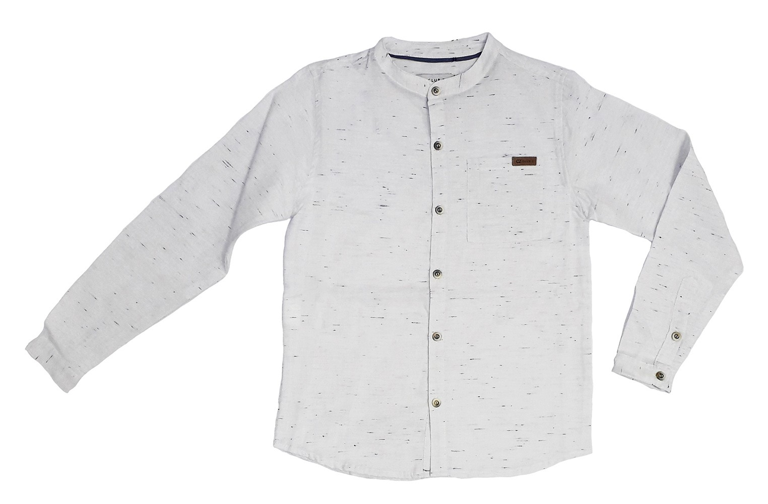 Roupa Infantil Masculina Camisa Branca Gola Redonda Club Z