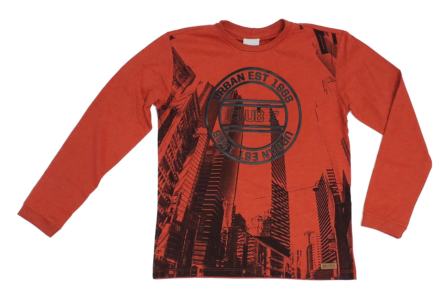 Roupa Infantil Masculina Camiseta Vermelha Estampada Club Z