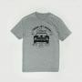 Camiseta Masc. Chevrolet Camaro Turbo Jet - Cinza Mescla