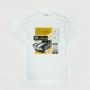 Camiseta Masc. Chevrolet Camaro V8 Blueprint - Branco