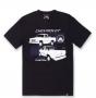 Camiseta Chevrolet Classics D20 Custom - Preto
