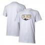 Camiseta Masc. Chevrolet S-10 - Badge - Branca