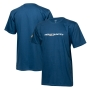 Camiseta Masc. Chevrolet S-10 High Country Lettering - Azul Oceano