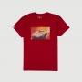 Camiseta DTG Chevrolet Corvette Stingray - Vermelho