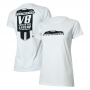 Camiseta Fem. Chevrolet Camaro Legend - Branca