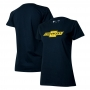 Camiseta Fem. Chevrolet Classics Logo - Azul Marinho