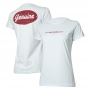 Camiseta Fem. Chevrolet Genuine - Branca
