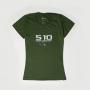 Camiseta Fem. Chevrolet S-10 - Verde Militar