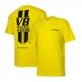 Camiseta Masc. Chevrolet Camaro Powerful Estonada - Amarela
