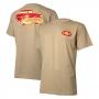 Camiseta Masc. Chevrolet Classics Golden Years - Marrom Claro