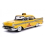 Miniatura Chevrolet Bel Air Taxi 1957 Deadpool 1:24 - Amarelo