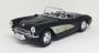 Miniatura Chevrolet Corvette 1957 1:18 - Preto